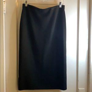Ann Taylor black pencil knit skirt